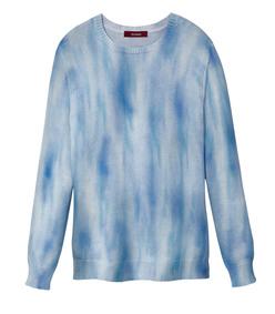 courtney tie dye crew neck sweater