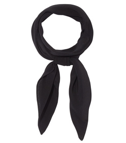 black neck scarf