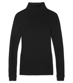 ShopBazaar Loewe Black Turtleneck Sweater MAIN