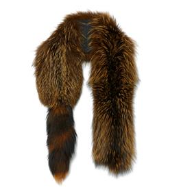 ShopBazaar Marni Fox Fur Stole MAIN