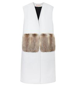 ShopBazaar Marni Leather Waistcoat MAIN