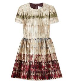 ShopBazaar Valentino 'Angel Wings' Brocade Dress MAIN