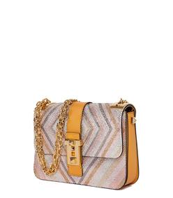 ShopBazaar Valentino Embellished Rockstud Shoulder Bag FRONT