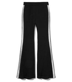 black pant w side stripe