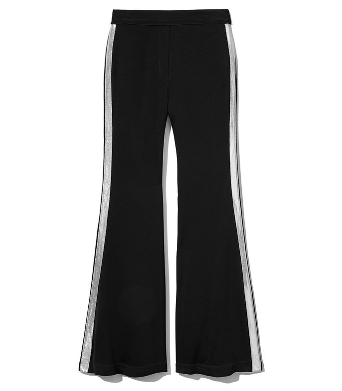 black pant w side stripe