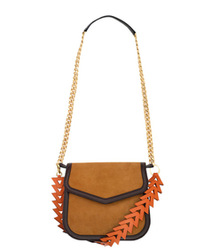 ShopBazaar Loewe V-Shoulder Bag FRONT