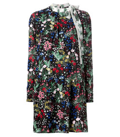 ShopBazaar Valentino Primavera Print Dress MAIN