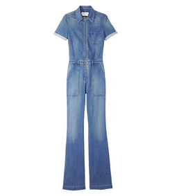 ShopBazaar Stella McCartney Denim Jumpsuit MAIN
