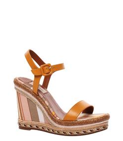 ShopBazaar Valentino Navajo Wedge Sandal FRONT