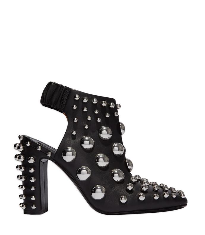 black 'ellery' studded boot