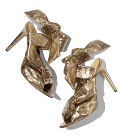 gold maleah sandals
