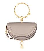 grey small bracelet bag