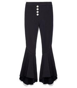 black flared pant