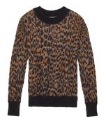 leopard 'jasper' sweater
