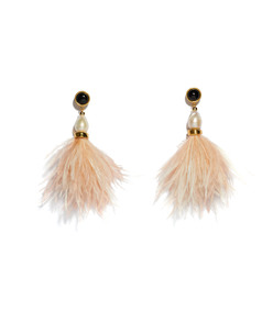 pink 'parker' earrings