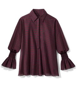 multicolor stripe shirt