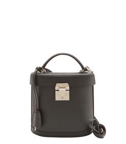 black 'benchley' pebbled bag