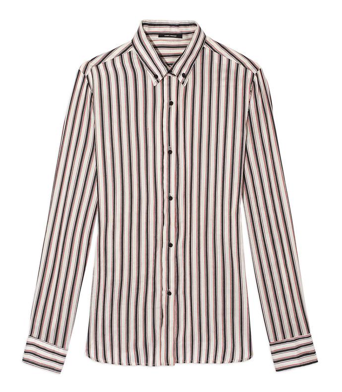 striped 'manray' tunic