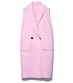 light pink waistcoat