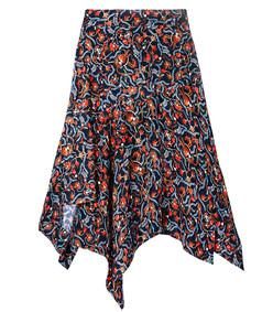multi floral 'rachel' skirt