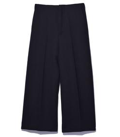 black wool trouser