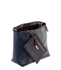 ShopBazaar Marni Color-Block Shoulder Bag FRONT