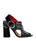 black studded 'patsy' sandal