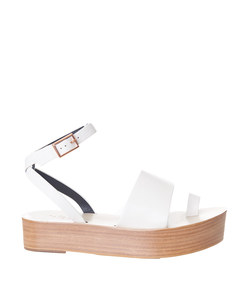ivory 'janie' sandal