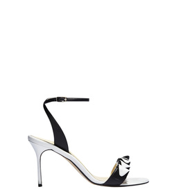 ShopBazaar Sarah Flint Black & White Anne Sandal MAIN