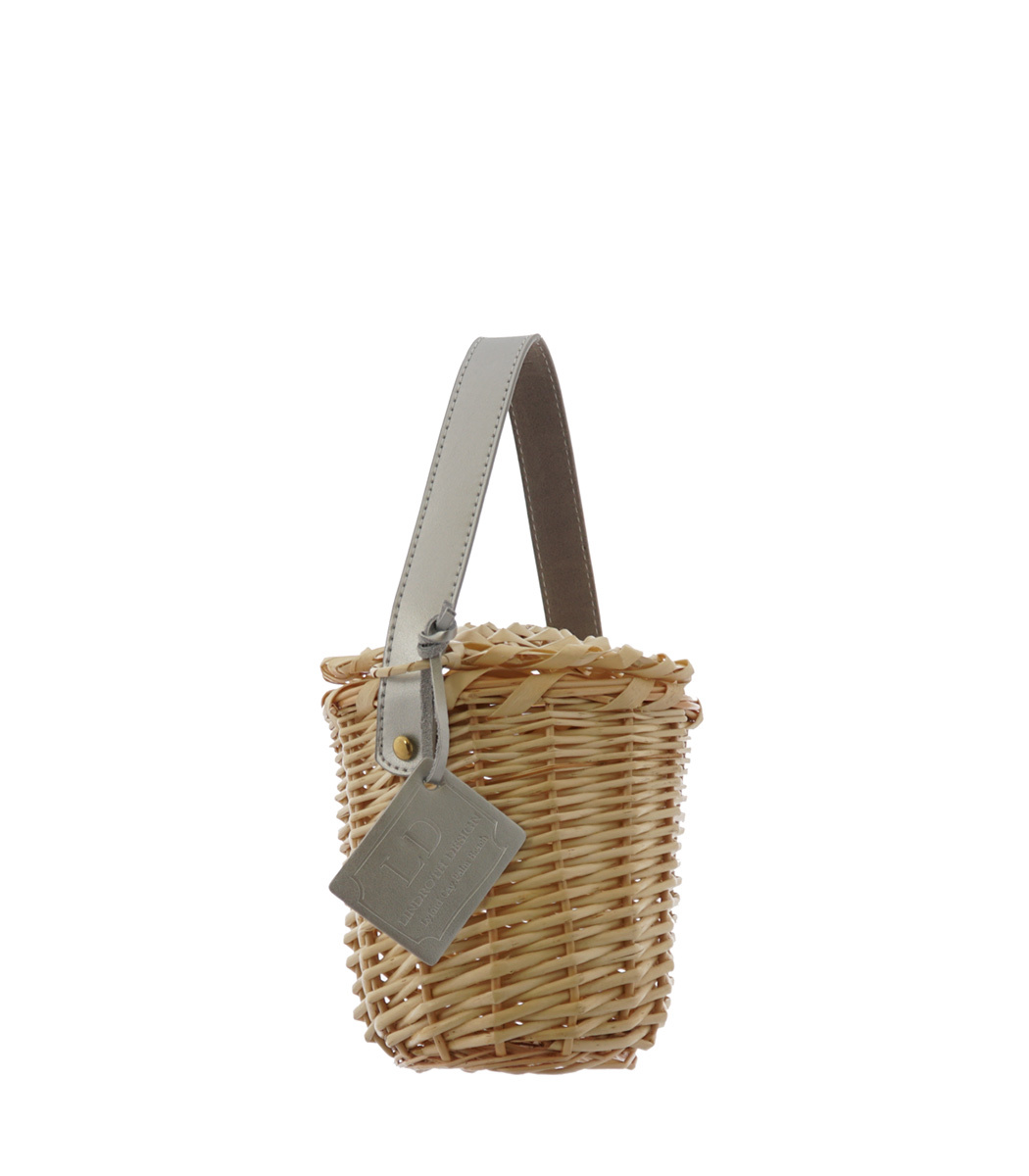 LINDROTH DESIGN Silver Mini Birkin Basket