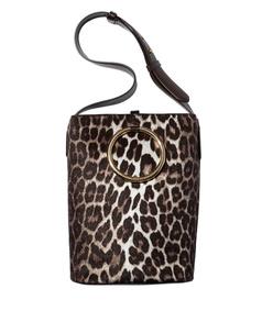 ShopBazaar Stella McCartney Leopard Print Bucket Bag MAIN