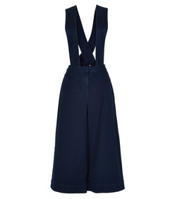 ShopBazaar Tibi Denim Overalls MAIN