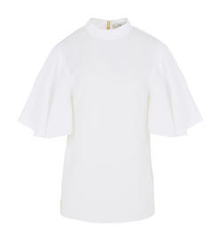 white 'savanna' tie back top