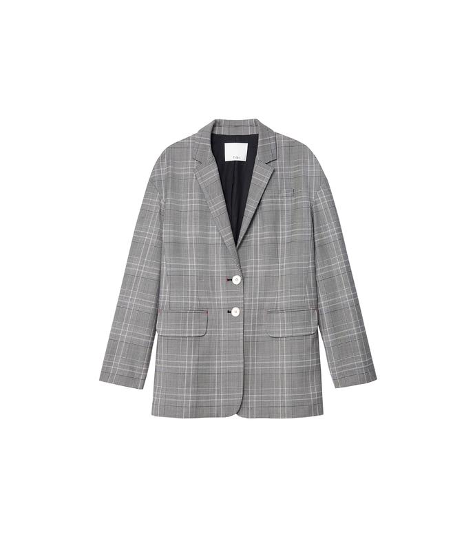grey jasper oversized blazer