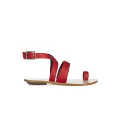 crimson rose 'hallie' sandal