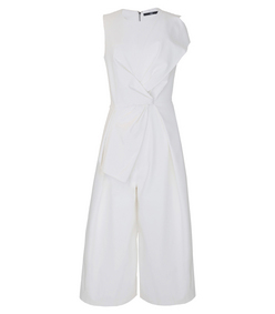 ShopBazaar Tibi Agathe Bow Jumpsuit MAIN