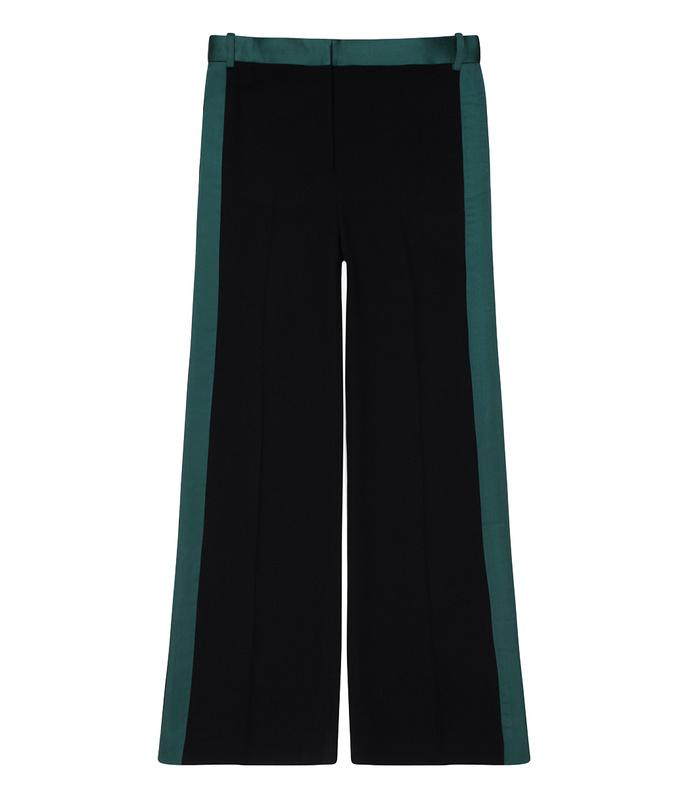 black striped tux pant