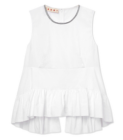 ShopBazaar Marni Peplum Tank Top MAIN