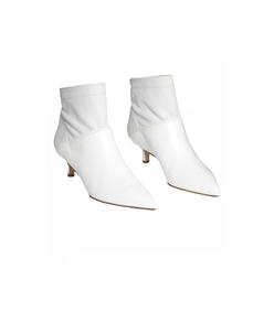 bright white jean boots