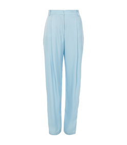 baby blue sculpted suit pant