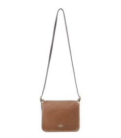 ShopBazaar Valentino Tassel Saddle Bag FRONT