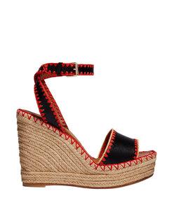 ShopBazaar Valentino Color Crochet Wedge MAIN