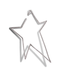 Silver Star Earring Product Image