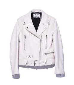 silver birch mock leather jacket
