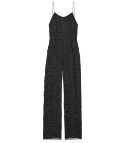 ShopBazaar Adam Lippes Black Lace Jumpsuit MAIN