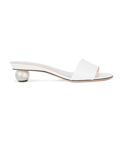 white anaxa mules