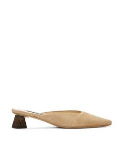 beige 'les mules maceio' heels
