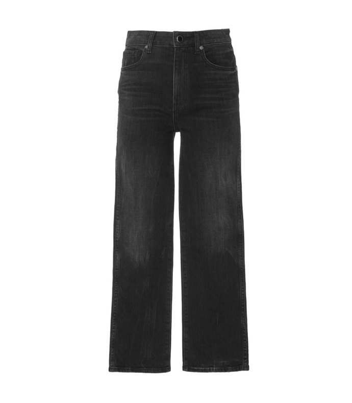 Mid-Rise Cropped Flared Jeans aff-589209