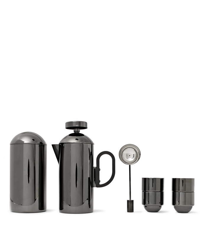 Brew Coated Stainless Steel Cafetiere Set aff-984050
