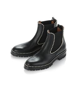 black spencer boots